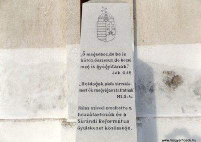 Sáránd világháborús emléktáblák 2018.01.27. küldő-kalyhas (7)