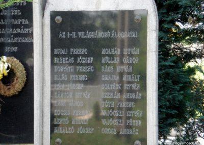Sárazsadány világháborús emlékmű 2011.05.30. küldő-megtorló (3)