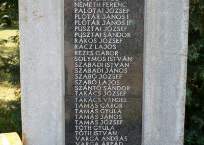 Sármellék világháborús emlékmű 2013.05.10. küldő-Sümec (10)