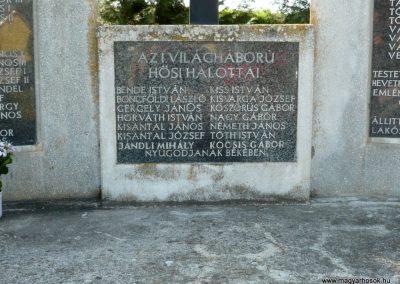 Sármellék világháborús emlékmű 2013.05.10. küldő-Sümec (4)