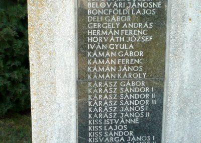 Sármellék világháborús emlékmű 2013.05.10. küldő-Sümec (8)