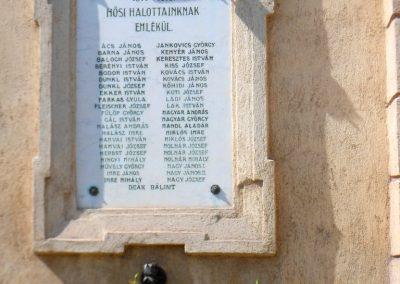 Sárosd I. világháborús emléktáblák 2012.08.31. küldő-Baloghzoli (2)