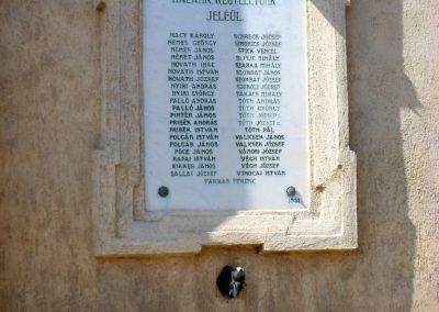 Sárosd I. világháborús emléktáblák 2012.08.31. küldő-Baloghzoli (4)