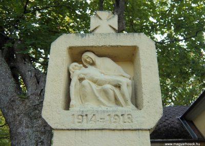 Sárosfa világháborús emlékmű 2015.08.28. küldő-Méri (1)