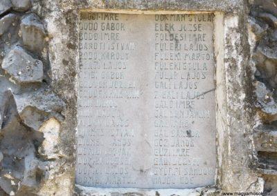 Sárrétudvari I. és II. világháborús emlékmű 2018.05.26. küldő-Bóta Sándor (6)