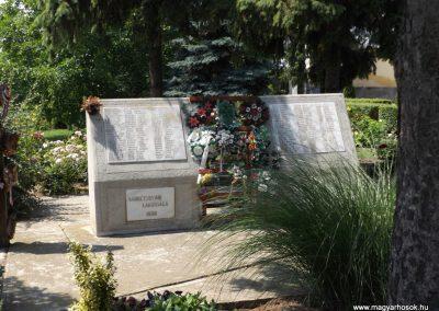 Sárrétudvari I. és II. világháborús emlékmű 2018.05.26. küldő-Bóta Sándor (8)