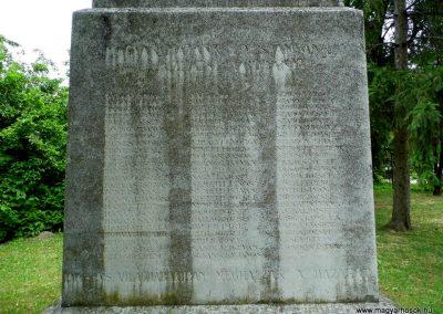 Sárszentmihály világháborús emlékmű 2015.06.19. küldő-Méri (2)