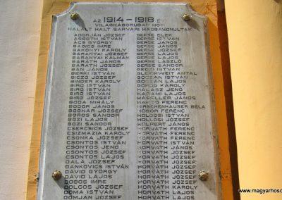 Sárvár I. világháborús emlékmű 2014.08.07. küldő-Emese (10)