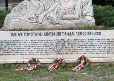 Sásd II.vh emlékmű 2007.08.04. küldő-kalyhas (3)