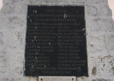 Sáta világháborús emlékmű 2008.03.02.küldő-Kályhás (1)