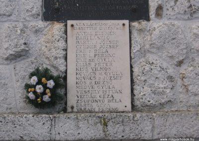 Sáta világháborús emlékmű 2008.03.02.küldő-Kályhás (2)