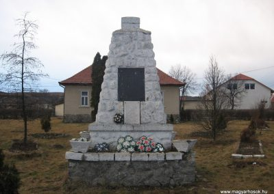 Sáta világháborús emlékmű 2008.03.02.küldő-Kályhás