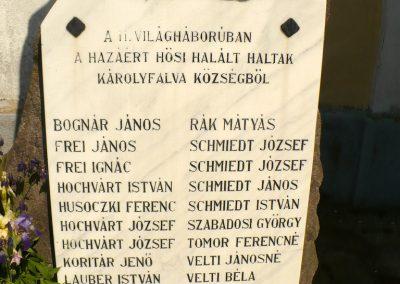 Sátoraljaújhely-Károlyfalva II.világháborús emlékmű 2012.05.20. küldő-Gombóc Arthur (2)