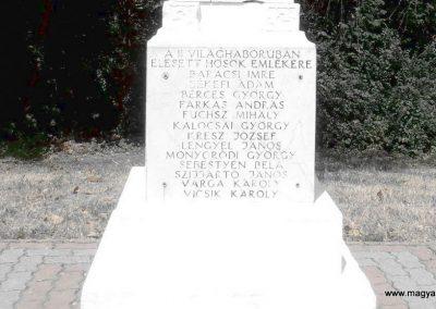 Sátorhely világháborús emlékmű 2012.07.15. küldő-Bagoly András (7)