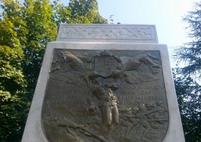 Sátorhely világháborús emlékmű 2014.09.09. felújítás után küldő-KRYSZ (1)