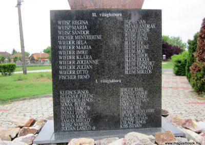 Sényő világháborús emlékmű 2013.05.23. küldő-kalyhas (5)