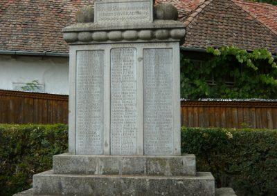 Sóvárad világháborús emlékművek 2009.08.23.küldő-Ágca (1)