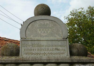 Sóvárad világháborús emlékművek 2009.08.23.küldő-Ágca (2)
