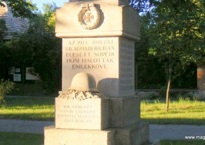 Sőréd I.világháborús emlékmű 2012.06.16. küldő-Méri (2)