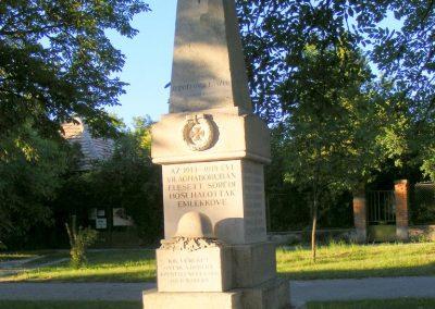 Söréd I. világháborús emlékmű