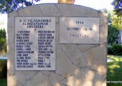 Sőréd II.világháborús emlékmű 2012.06.16. küldő-Méri (1)