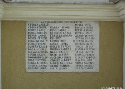 Sajólád világháborús emléktáblák 2008.04.21. küldő-Kályhás (2)
