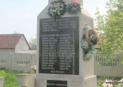 Sajópetri világháborús emlékmű 2008.04.21. küldő-kalyhas (2)