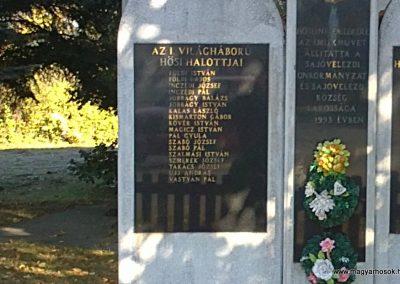 Sajóvelezd világháborús emlékmű 2011.10.16. küldő-Pataki Tamás (1)