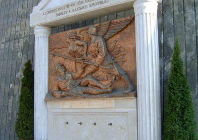 Salgótarján Hősi emlékmű 2008.02.21.küldő-Kiev