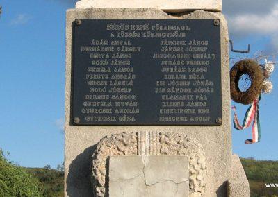 Salgótarján-Zagyvapálfalva világháborús emlékmű 2008.10.17. küldő-Kályhás (7)