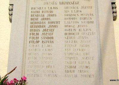 Salgótarján- Zagyvaróna I. világháborús emléktábla 2012.09.03. küldő-kalyhas (4)
