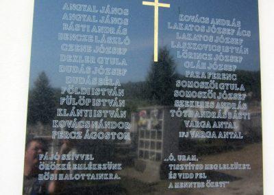 Salgótarján- Zagyvaróna II. világháborús emléktábla 2012.09.03. küldő-kalyhas (2)