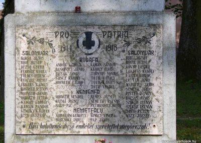 Salomvár-Keménfalu világháborús emlékmű 2007.06.03.küldő-HunMi (1)