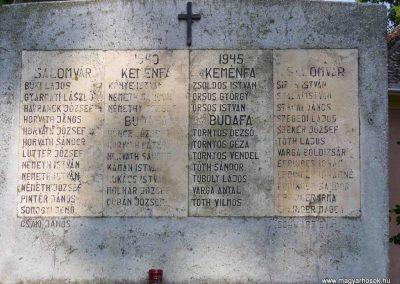 Salomvár-Keménfalu világháborús emlékmű 2007.06.03.küldő-HunMi (2)