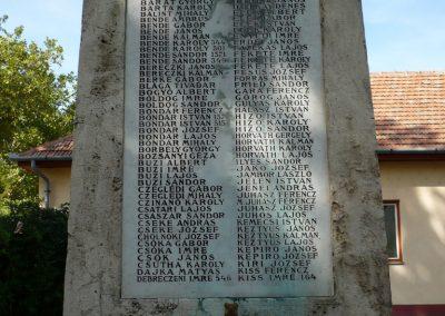 Sarkad I.vh emlékmű 2009.07.27.küldő-Sümec (2)