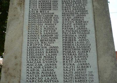 Sarkad I.vh emlékmű 2009.07.27.küldő-Sümec (3)
