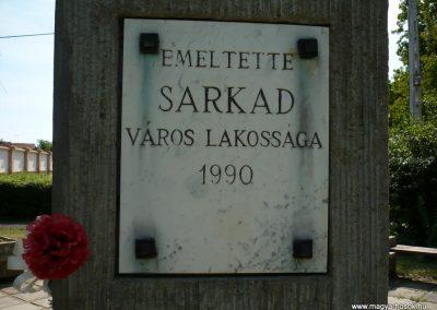 Sarkad II.vh emlékmű 2009.07.27.küldő-Sümec (7)