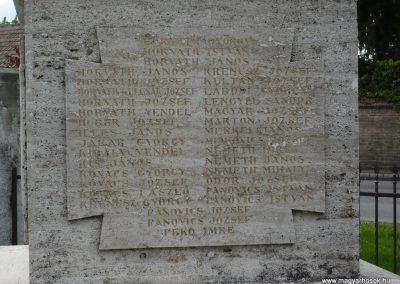 Segesd világháborús emlékmű 2009.04.21. küldő-Sümec (4)