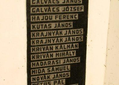 Selyeb világháborús emlékmű 2011.11.01. küldő-Gulyás László (2)