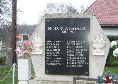 Semjén világháborús emlékmű 2009.12.08. küldő-Ágca (2)