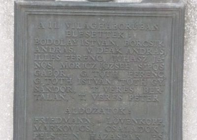 Semjén világháborús emlékmű 2009.12.08. küldő-Ágca (4)