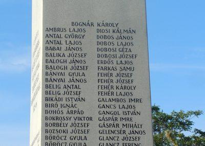 Siófok I. világháborús emlékmű felújítás után 2012.09.22. küldő-Pfaff László, Rétság (4)