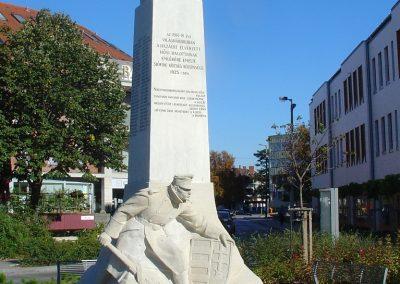 Siófok I. világháborús emlékmű felújítás után 2012.09.22. küldő-Pfaff László, Rétság
