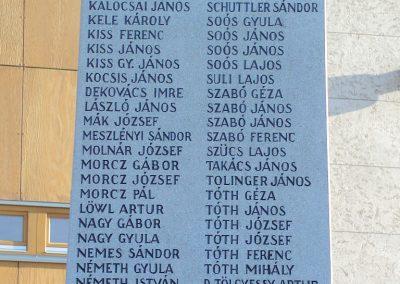 Siófok I. világháborús emlékmű felújítás után 2012.09.22. küldő-Pfaff László, Rétság (5)