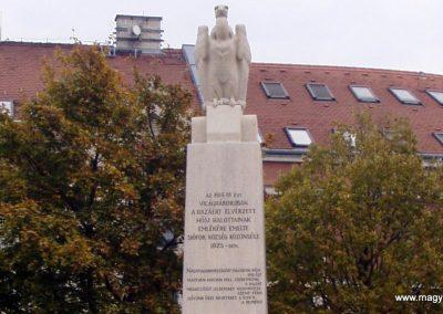 Siófok I.vh emlékmű felújítás után 2011.10.29. küldő-Szilsomogy (1)