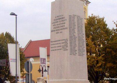 Siófok I.vh emlékmű felújítás után 2011.10.29. küldő-Szilsomogy (2)