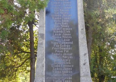 Siménfalva I. világháborús emlékmű 2017.08.22. küldő-Szklenár László (2)