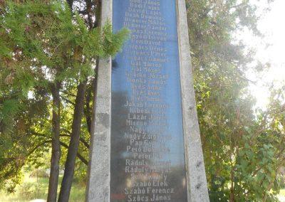 Siménfalva I. világháborús emlékmű 2017.08.22. küldő-Szklenár László (4)