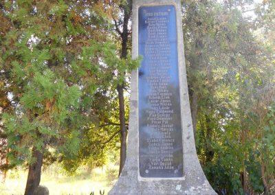 Siménfalva I. világháborús emlékmű 2017.08.22. küldő-Szklenár László (Mónika 39-né)