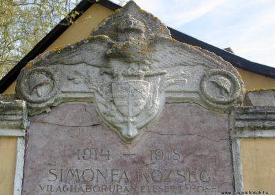 Simonfa I.vh emlékmű 2011.04.23. küldő-kalyhas (2)